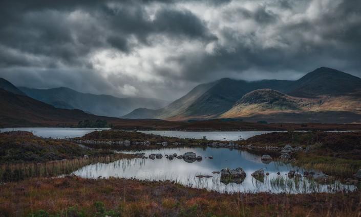 Landschaft Landschaftsfotografie Natur Schwarz-Weiß Landscape Architektur Architecture Outdoor Urban Lost Places Thomas Brand Ebersberg Highlands Schottland