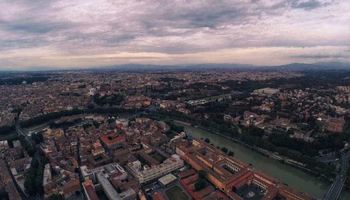 Luftaufnahme Quadcopter Drohne GoPro Aerial Rom