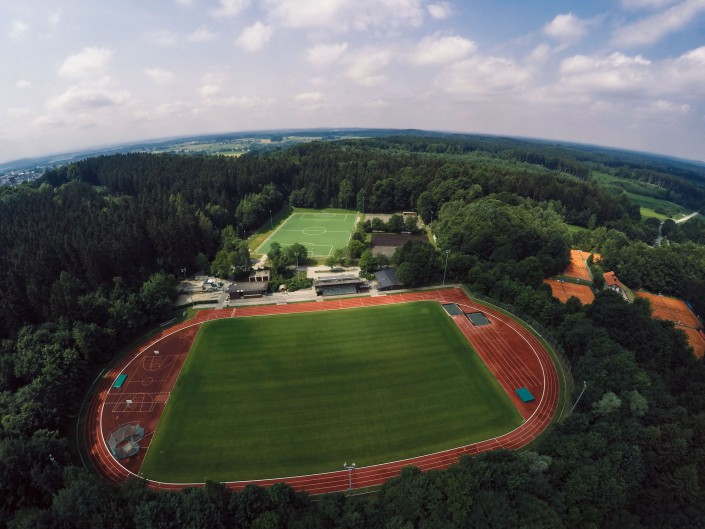Luftaufnahme Quadcopter Drohne GoPro Aerial Monteriggione